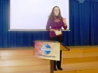 Club President Monica Horton